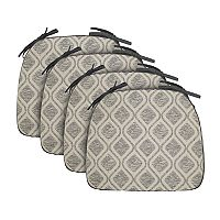 Food Network™ 4-piece Reversible Trellis Chair Pad Set