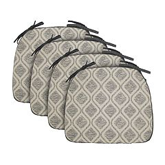 Food Network™ Reversible Trellis Chair Pad 4-pack