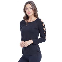 Women's Balance Collection Mercy Strappy Sleeve Tee