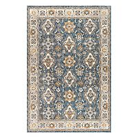 KHL Rugs Fairview Spice Framed Floral Rug