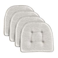 Food Network™ 4-piece Wicked Gray Chair Pad Set