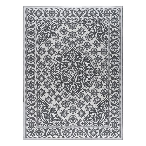 KHL Rugs Majesty Francesca Framed Medallion Rug