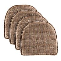 Food Network™ Kahuna Multi-Stripe Chair Pad 4-pack