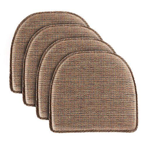 Food Network™ Kahuna Multi-Stripe Chair Pad 4-pack