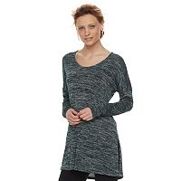 Women's Apt. 9® Marled Scoopneck Tunic