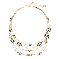 Dana Buchman Marquise Layered Necklace
