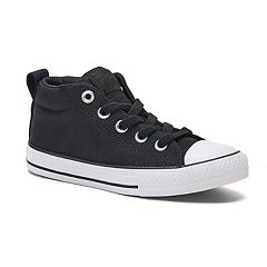 Boys' Converse Chuck Taylor All Star Street Mid Basket Weave Sneakers