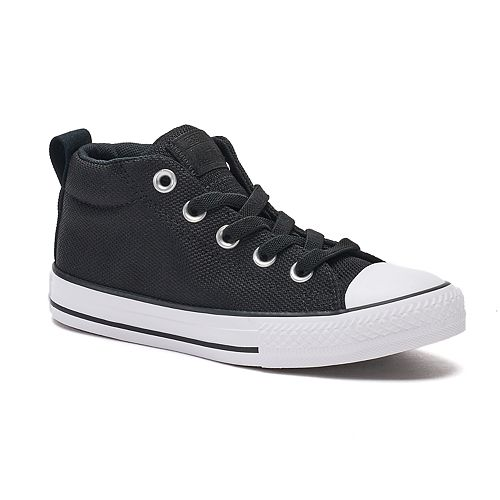 6367fde519d97 Boys  Converse Chuck Taylor All Star Street Mid Basket Weave Sneakers