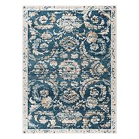 KHL Rugs Peyton Shaina Framed Floral Rug