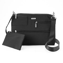 Women's Baggallini Tablet Crossbody Bag with RFID Blocking Pouch