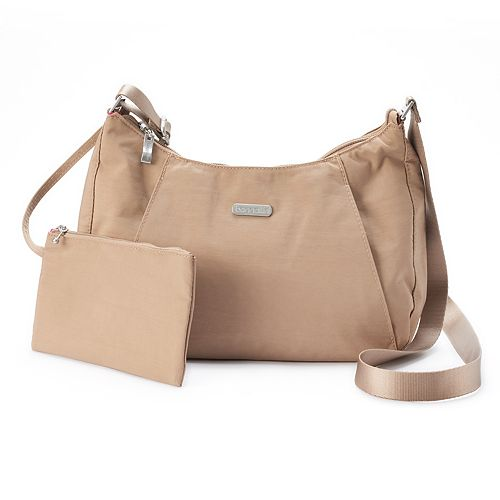 d82abd919ad85 Women s Baggallini Slim Hobo Crossbody Bag with RFID Blocking Pouch