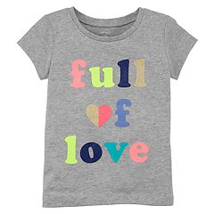 Girls 4-6X Carter's 'Full of Love' Tee