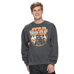 Men's Star Wars: Episode VIII The Last Jedi Retro Sweatshirt