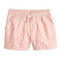 Girls 4-10 Jumping Beans® Dot Cuffed Twill Shorts