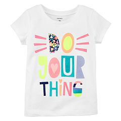 Girls 4-6X Carter's'Do Your Thing' Tee