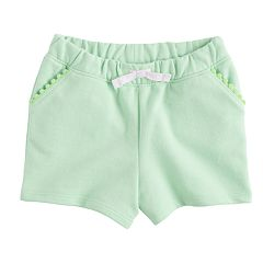 Baby Girl Jumping Beans® Trim Shorts