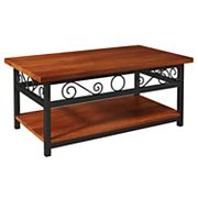 Alaterre Furniture Artesian Scrollwork Coffee Table