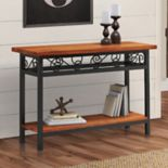 Alaterre Furniture Artesian Scrollwork Console Table