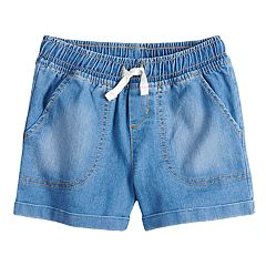 Girls 4-10 Jumping Beans® Denim Cuffed Shorts