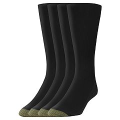 Men's GOLDTOE 3-pack + 1 Bonus Metro Crew Socks