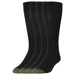 Men's GOLDTOE 3-pack + 1 Bonus Canterbury Crew Socks