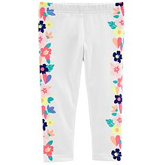 Girls 4-6X Carter's Floral Graphic Leggings
