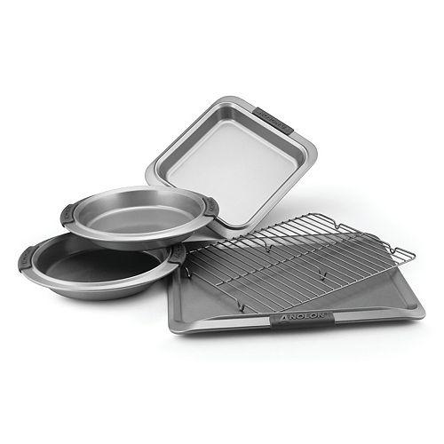 Anolon Advanced Nonstick 5-pc. Bakeware Set