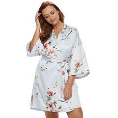 Plus Size Apt. 9® Floral Wrapper Robe