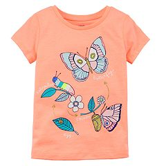 Girls 4-6X Carter's Butterfly Life Cycle Tee