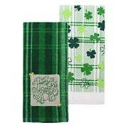 Celebrate St. Patrick's Day Together Happy St. Patrick's Day Kitchen Towel 2 pk
