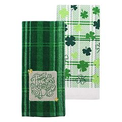 Celebrate St. Patrick's Day Together Happy St. Patrick's Day Kitchen Towel 2 pk