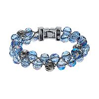 Napier Woven Multi Row Beaded Bracelet