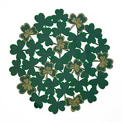 Celebrate St. Patrick's Day Together Shamrock Placemat