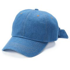 Mudd® Denim Tie Back Baseball Cap