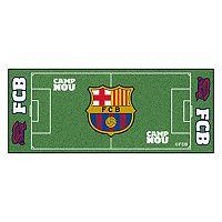 FANMATS FC Barcelona Soccer Pitch Runner Mat