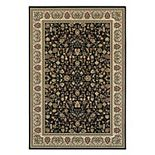 StyleHaven Keswick Floral Traditions Framed Rug