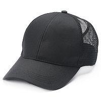Mudd® Mesh Back Ponytail Baseball Cap