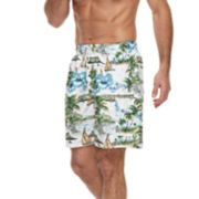 Men's Croft & Barrow® Mahalo Beach Swim Trunks