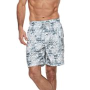 Men's Croft & Barrow® Rainforest Swim Trunks