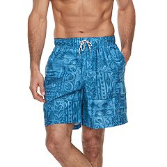 Men's Croft & Barrow® Aloha Swim Trunks