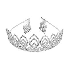 Crystal Avenue Tiara Comb Headband