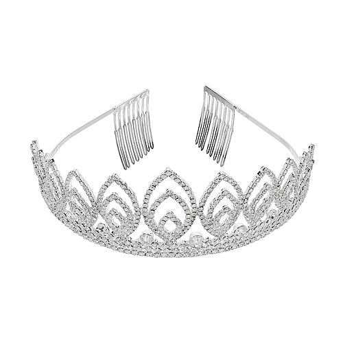 Crystal Avenue Tiara Comb Headband