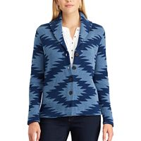 Women's Chaps Patterned Shawl Cardigan