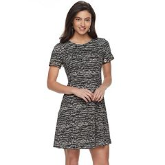 Women's Apt. 9® Grommet Fit & Flare Dress