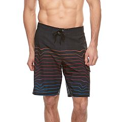 Big & Tall SONOMA Goods for Life™ Flexwear Striped Swim Trunks
