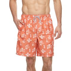 Big & Tall Croft & Barrow® Pineapple Printed Swim Trunks