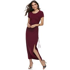 Women's Apt. 9® Ruched Maxi Dress