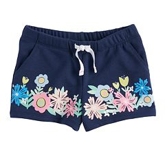 Baby Girl Jumping Beans® Floral Shorts