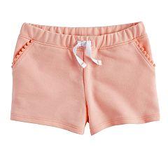 Toddler Girl Jumping Beans® Pom Trim Shorts