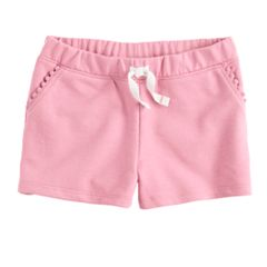 Toddler Girl Jumping Beans® Pom Trim Shorts